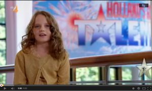 Holland's got talent- Amira Willighagen- O mio babbino caro